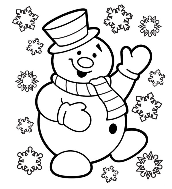 2017 Christmas Day Coloring Pages