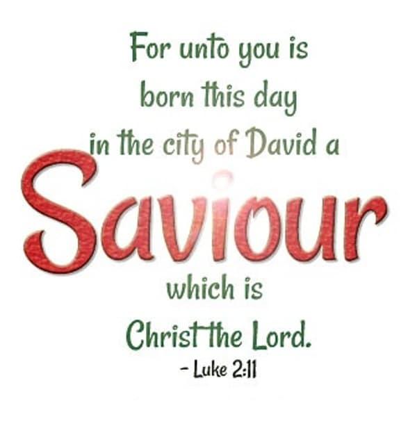 Christmas Bible Verses 2017