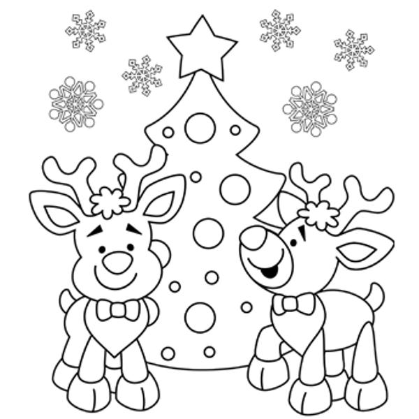 Christmas Day Coloring Pages 2017