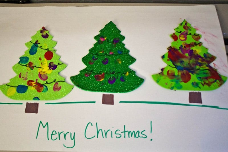 Christmas Day Crafts For Toddlers