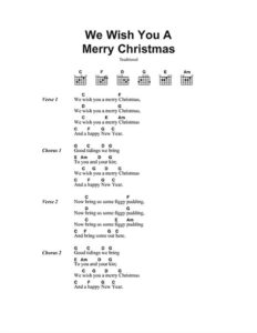 Christmas Day Piano Chords