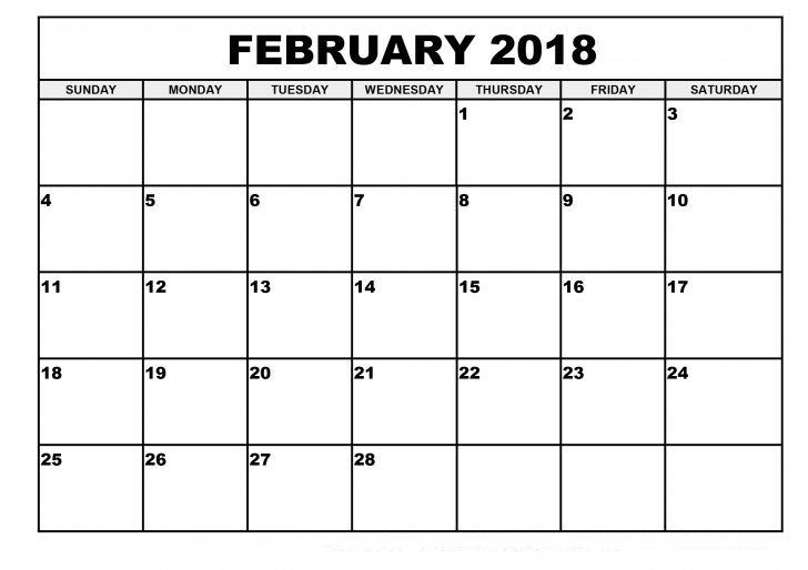 February 2018 Calendar With Holidays free imaes