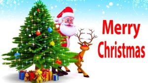 Happy Christmas 2017 Santa Claus
