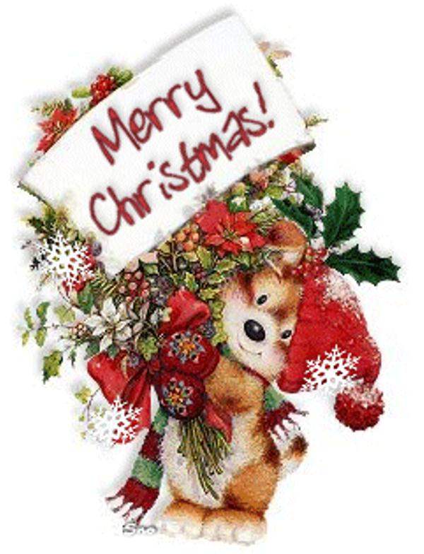 Happy Christmas Animated Images
