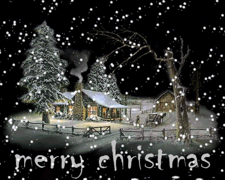 Happy Christmas Animated