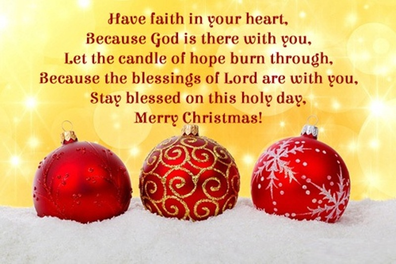 Happy Christmas Blessings