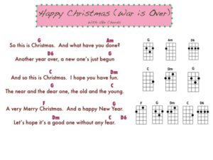 Happy Christmas Chords