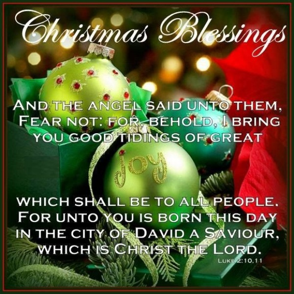Happy Christmas Day Blessings
