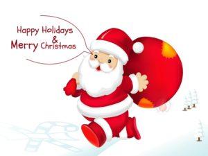 Happy Christmas Santa Claus