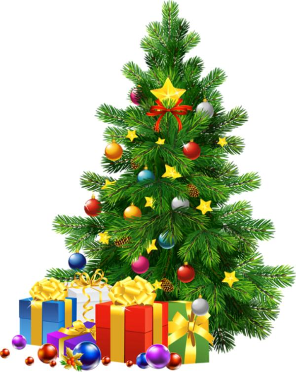 Happy Christmas Tree Images
