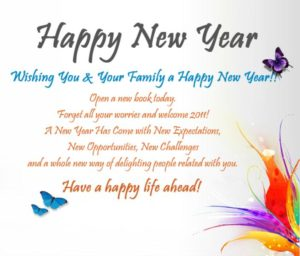 Happy New Year 2018 Messages in Marathi