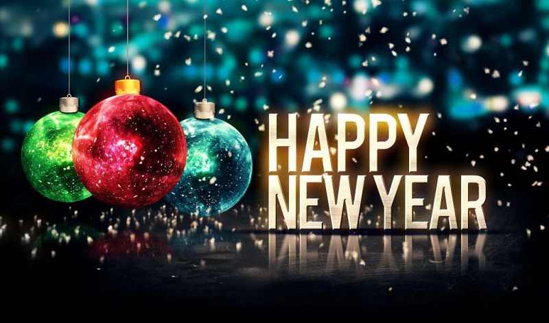 Happy New Year Images White Background