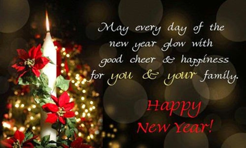 Happy New Year Messages with Love