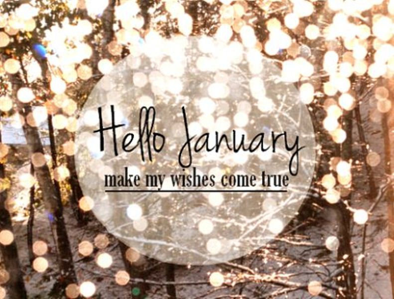 Hello January Goodbye December Images