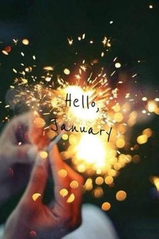 Hello January Goodbye December Quotes