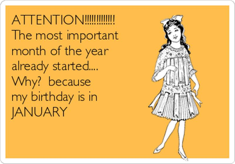 January Birthday Month Images, Quotes