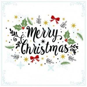 Merry Christmas Decorative Background