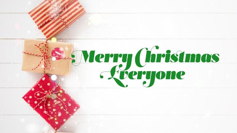 Merry Christmas Everyone Piano