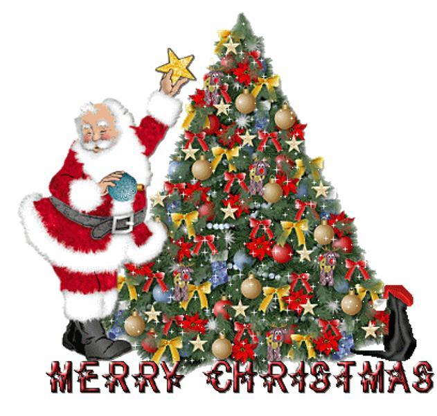 Merry Christmas Santa Animated
