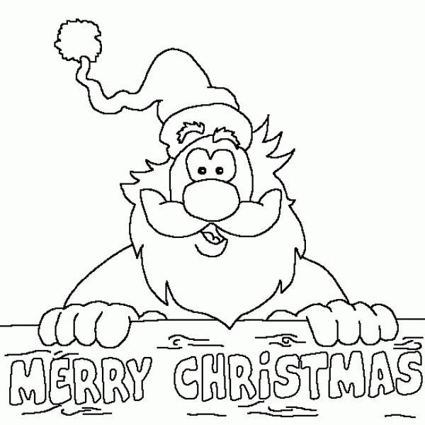 Merry Christmas Santa Drawings