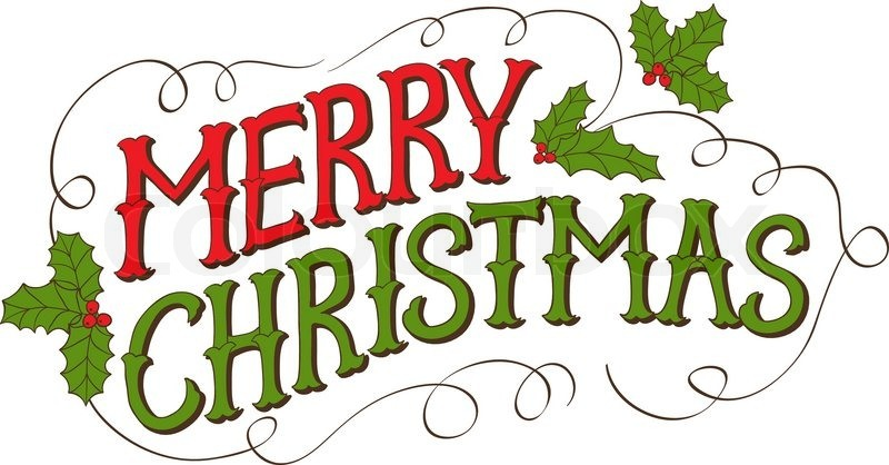 Merry Christmas Text Images