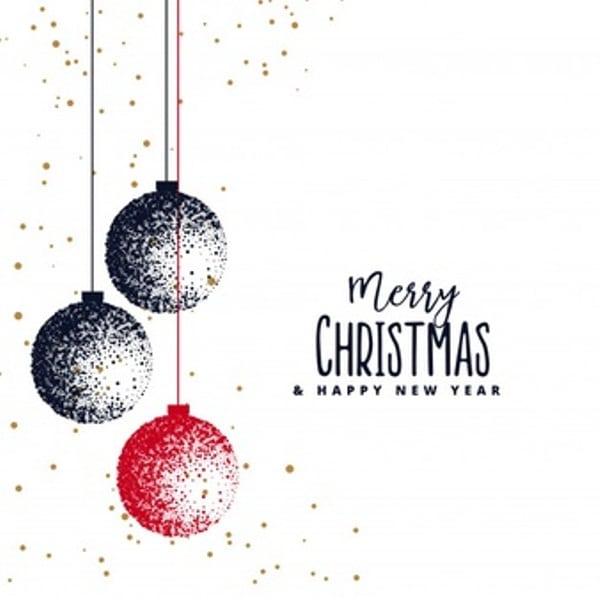 Merry Christmas Vector Art