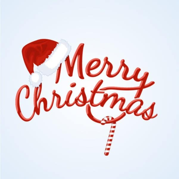 Merry Christmas Vector PNG