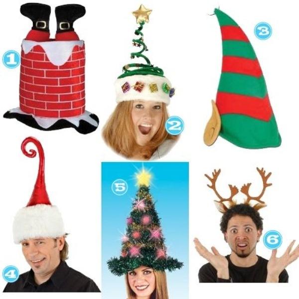 Red Santa Christmas Hats