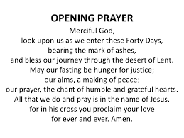 2018 Ash Wednesday Messages