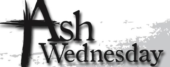 2018 Ash Wednesday Pics