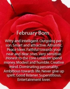 2018 February Birthday Quotes