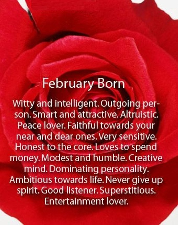 2018 February Birthday Quotes