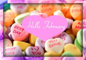 2018 Hello February Images Printable