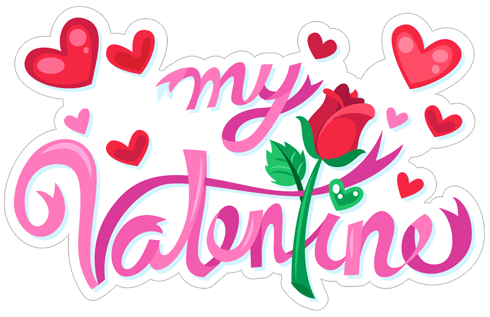 2018 Valentine's Day Stickers