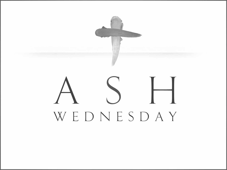 Ash Wednesday Holy Spirit