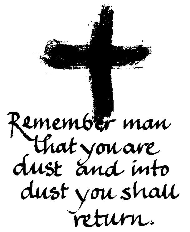 Ash Wednesday Images 2018