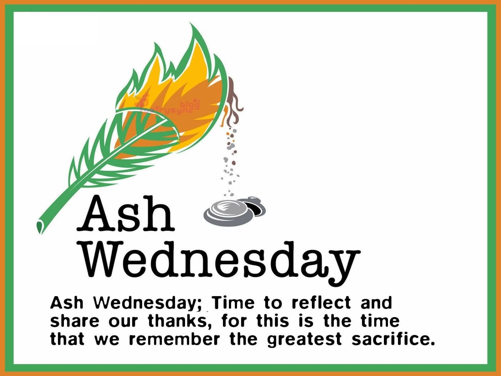 Ash Wednesday Messages 2018