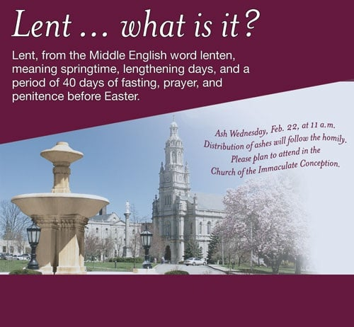 Ash Wednesday Messages Word