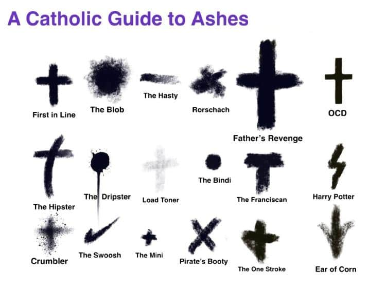 Image result for ash wednesday 2018