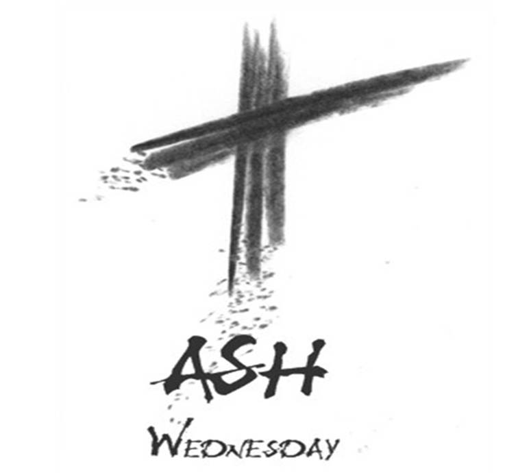 Ash Wednesday With Cross Photo