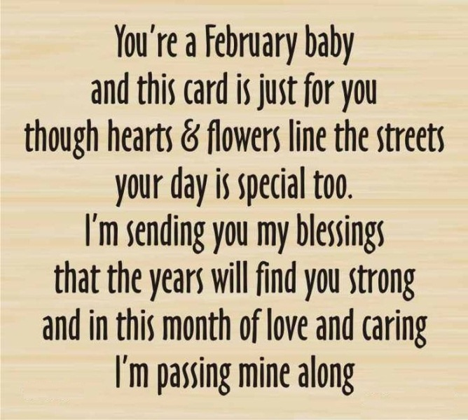 February Birthday Images, Quotes