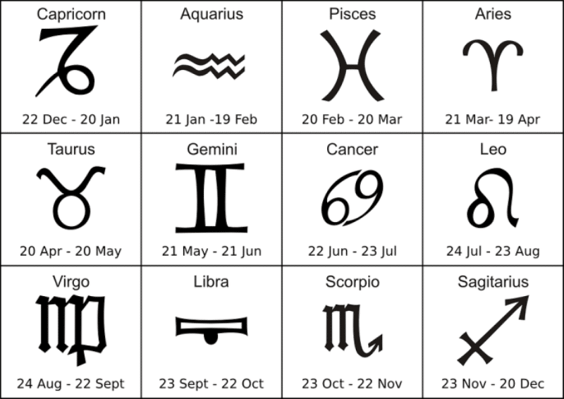 February Birthsign Tattoo For Kids
