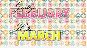 Goodbye February Quotes Printable