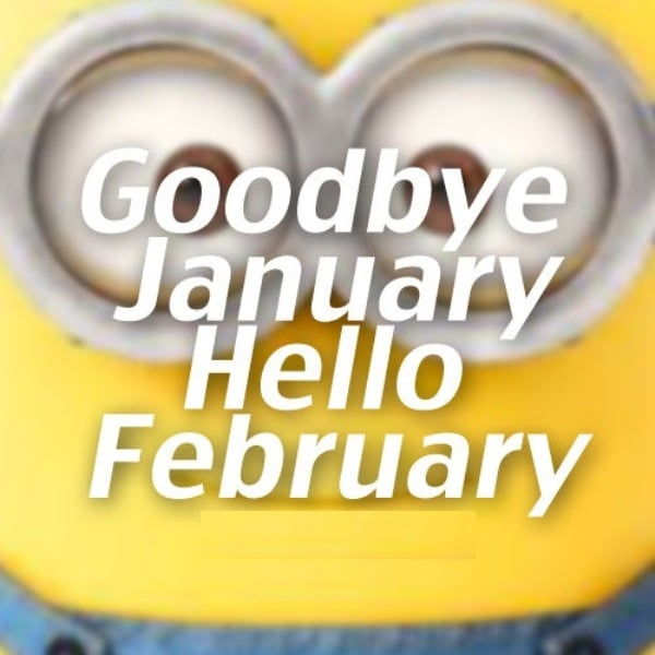 Goodbye January Hello February Quotes