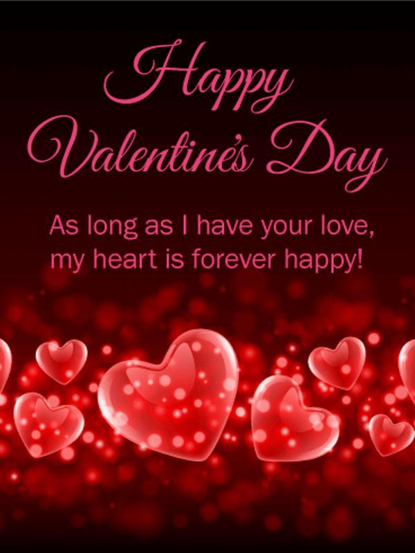 Happy Valentine's Day Cards 2018 Pics