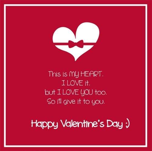 Happy Valentine's Day Slogans