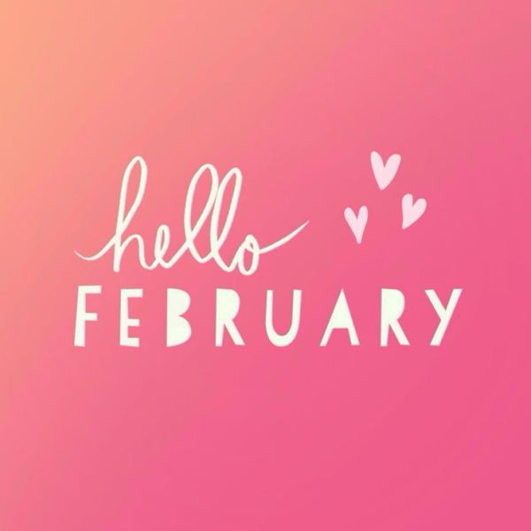 Hello February 2018 Images