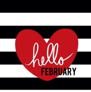 Hello February Images Template