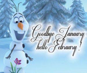 Hello February Quotes Hindi