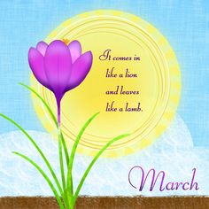 Hello March 2018 Quotes